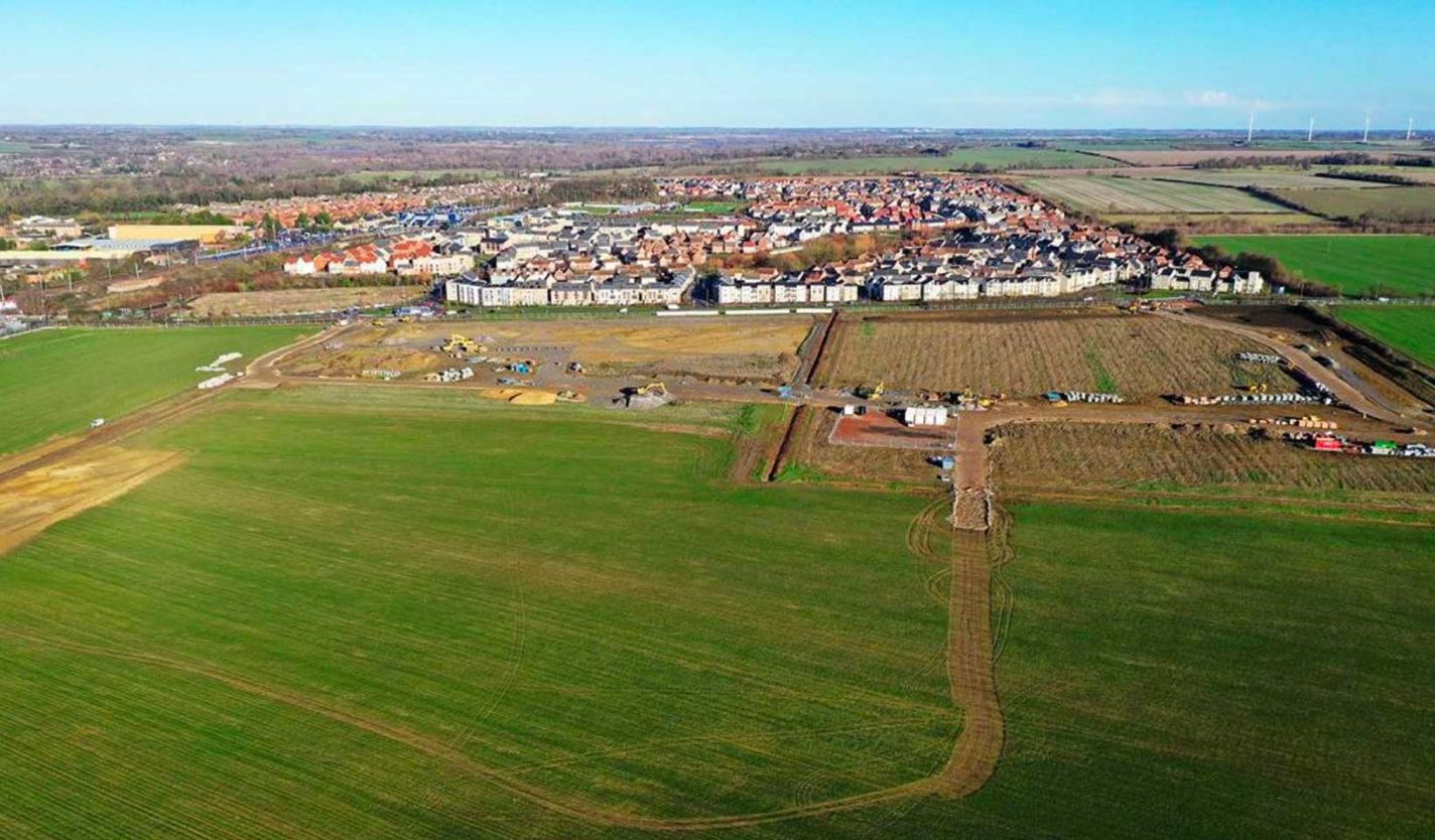Work starts on early infrastructure at Wintringham