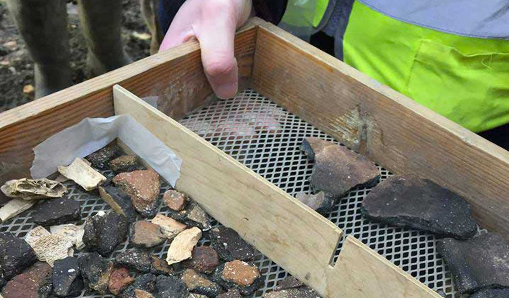 Archaeology finds at Wintringham St Neots