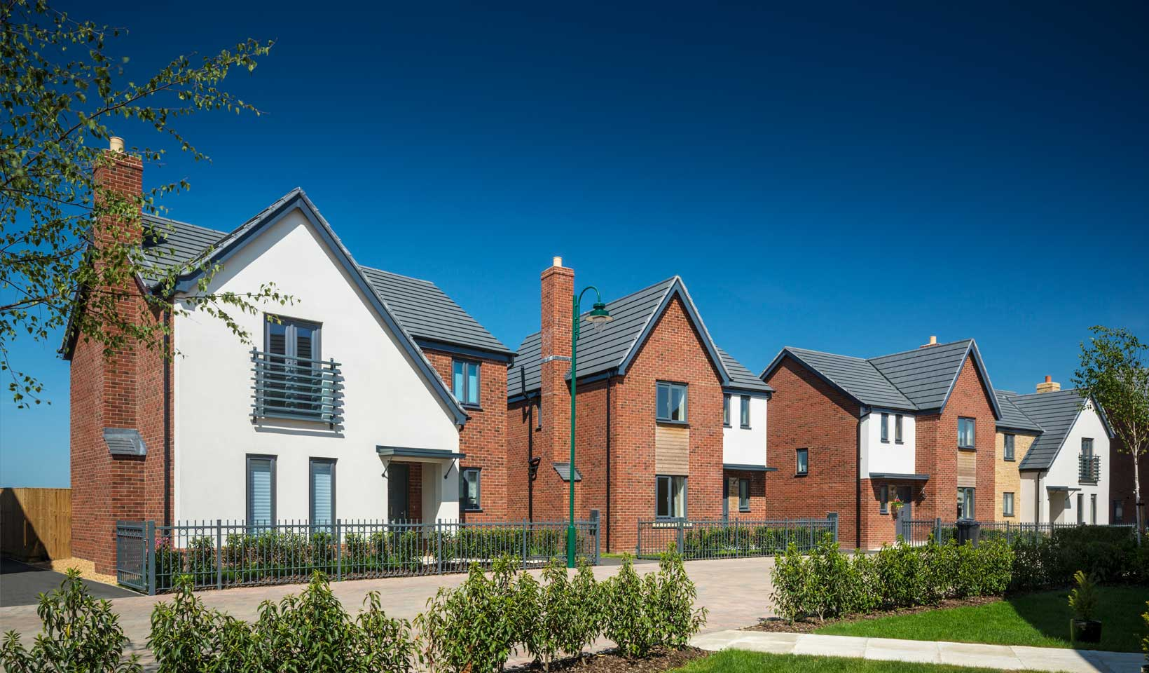 Morris homes at Wintringham