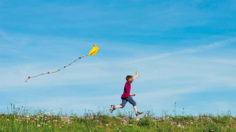 Wintringham a short kite flight east of St Neots