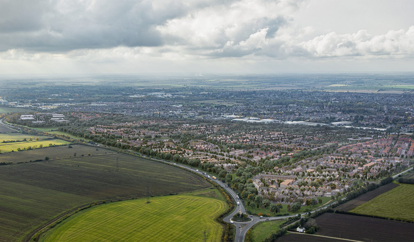 Wintringham site aerial view
